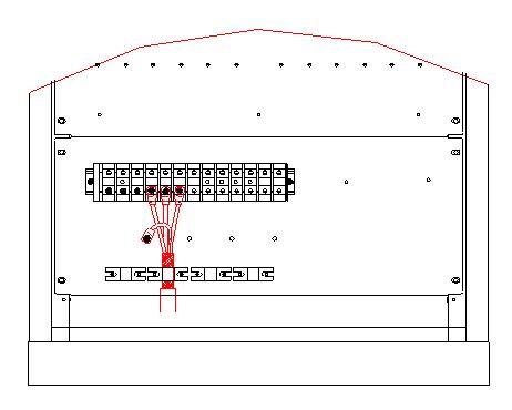 空调电供箱接线图